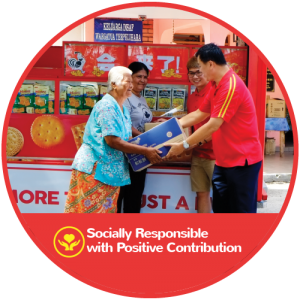 Shoon Fatt Socially Responsible with Positive Contribution