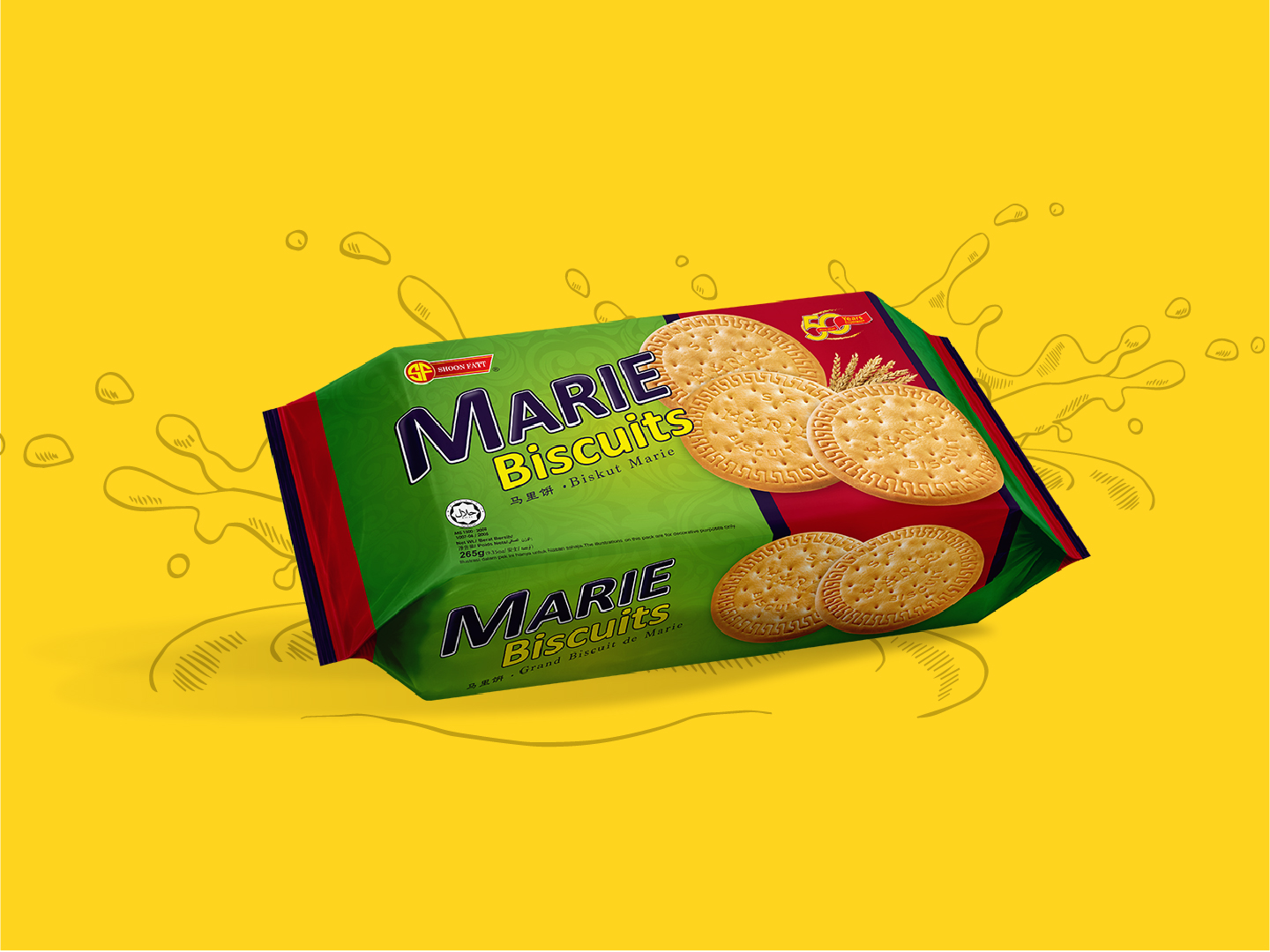 Shoon Fatt Marie Biscuits